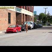Tina FloridaTeenModel Latina Nude In Public Street 010816 mp4