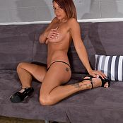 Nikki Sims Sheer Dress 006