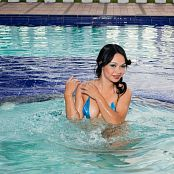 Valeria Lopera Blue Bikini Beauty tbf 643 003