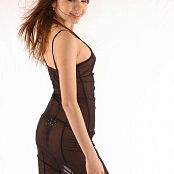 Young Gusel Beauty In Transparent Dress Picture Set