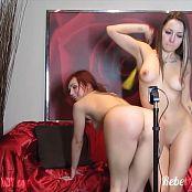 Ariel Rebel & Mandy Naughty Dildoshow Part 3 HD Video