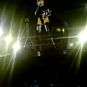 Rihanna Rockstar Live Antwerp Belgium Black Latex HD Video