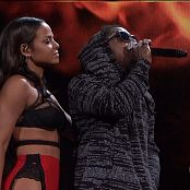 Christina Milian Stars A Fire Live AMA 2014 HD Video