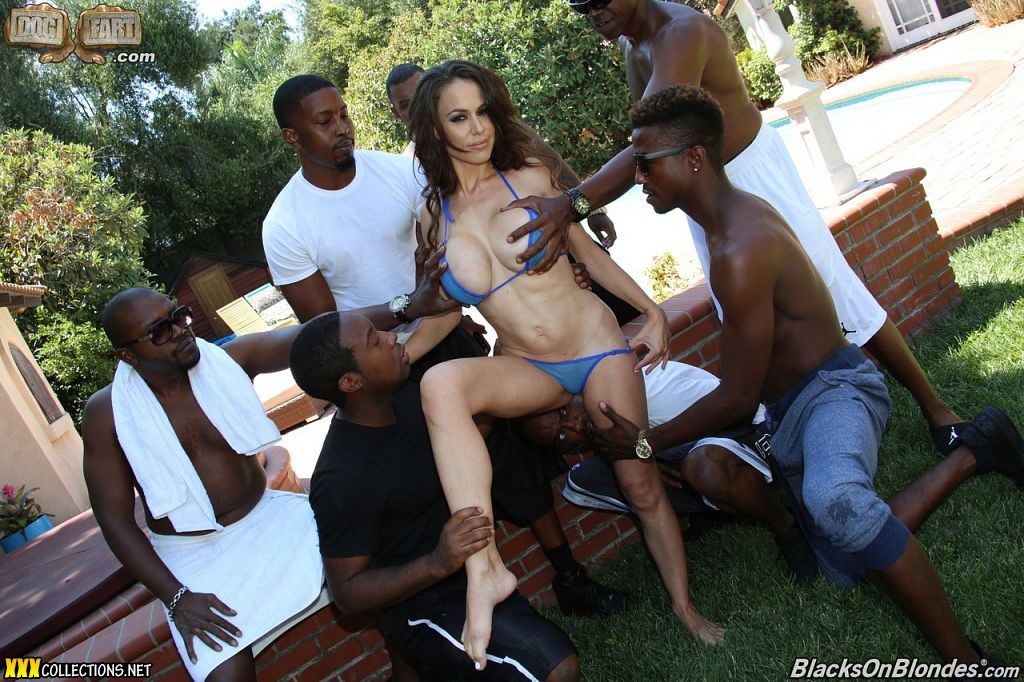 interracial gangbang hd