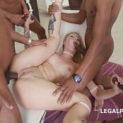 LegalPorno Black Busters 5 On 1 Christie Starr Interracial Balls Deep DP DAP Gapes Creampie GIO227 720p 110916 mp4