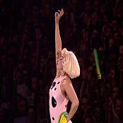 Lady Gaga Various Hot Latex Outfits HD Video