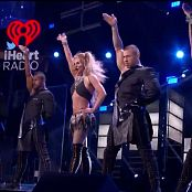 Britney Spears Medley Live iHeartRadio Festival 2016 1080i 250916 002