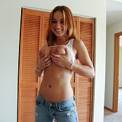 Nextdoornikki Jeans And No Panties Topless 002