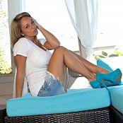 Nikki Sims White Tee 003
