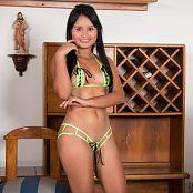 Thaliana Bermudez Neon Green Micro TBF Picture Set 650 Download