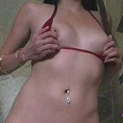 Andi Land Shiny Bikini HD Video 171016 mp4