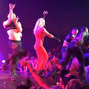Britney Spears Freakshow Red See Through Outfit 2014 HD 051016 mp4