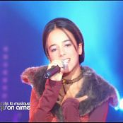 Alizee Sexy Short Clip of Live Performance Moi Lolita Video