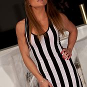 Madden Black and White Dress 002