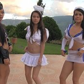 Mary Mendez, Yamile & Yenni Ready For Halloween TBF HD Video 488