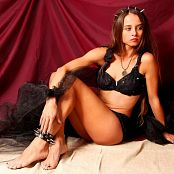 Cinderella Girl Black Picture Set & HD Video 578