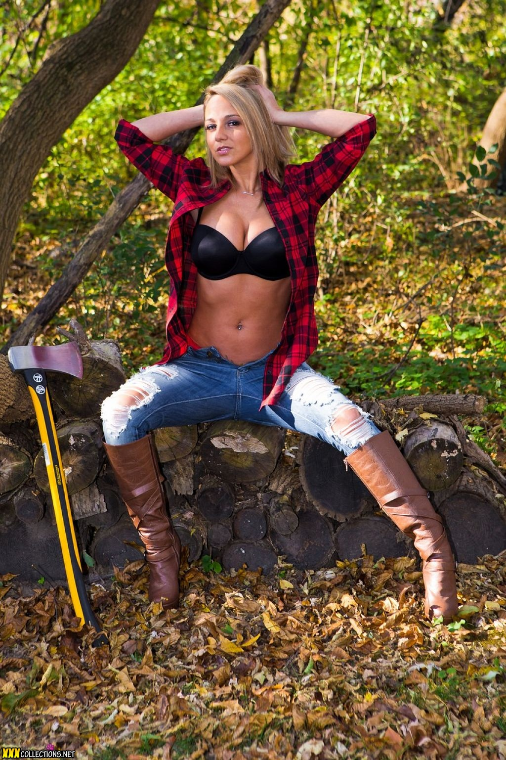 sexy Lumber jack links