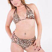 Sherri Chanel Leopard Bikini Bonus Set 183 002
