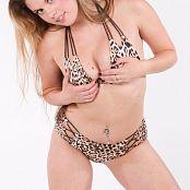 Sherri Chanel Leopard Bikini Bonus Set 183 009