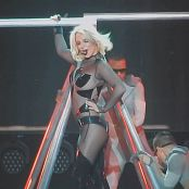 Britney Spears POM 2015 Super Sexy Plastic PVC Catsuit HD Video