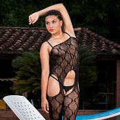 Veronica Perez Black Body Suit Bonus Level 2 yfm set 172 290