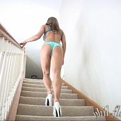 Princessblueyez Green Bra and Panty Photoshoot 041a 480p 041216 mp4