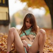 Ariel rebel Playing In Leaves 2 002