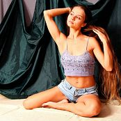 Cinderella Girl Violet Picture Set 583