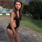 Angelita Model Black Lingerie YFM HD Video 213