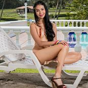 Ximena Model Orange Slingshow Bonus LVL 3 Picture Set 2
