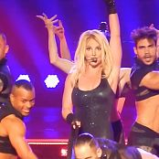Britney Spears Skin Tight Black Catsuit POM 2015 HD Video