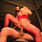 Ashley Blue petite brunette takes on two big cocks HI new 071216 avi
