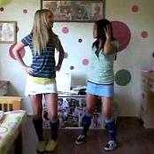 2 Cute Young Girl Dance Fun Video