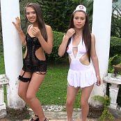 Susana Ortiz and Mary Mendez Contrasting Outfits TBF Bonus LVL 2 HD Video 023 040117 mp4