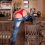 Nikki Sims Shredded Jeans 002