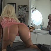 Kalee Carroll Sexy Pink Lingerie Ass Tease Video 282