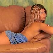 Halee Model Purple Lace Lingerie & Green Thong Dance Video