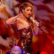 Shakira She Wolf Live TOTP Christmas 2009 Video
