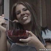 Princessblueyez Sexy Maid In Kitchen Video