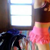 Amateur Teen Dancing Fun Video