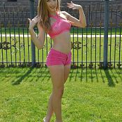 Silver angels Pink Shorts Picture Set 1