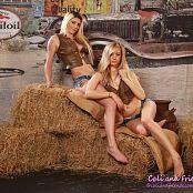 Cali Skye Layla Cali Skye and Layla Down on the Farm 420