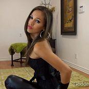 Goddess Rodea My Shiny Leggings HD Video
