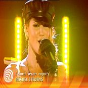 Rachel Stevens I Said Never Again Live TOTP 2005 Video