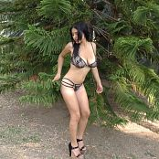 Pretty Pamela Stringy Black HD Video 11