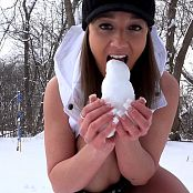 Nikki Sims Snow Punishment HD Video