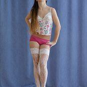 Silver Jewels Sarah White Stockings Set 4 425