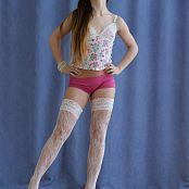Silver Jewels Sarah White Stockings Set 4 517