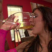 Amy Brooke Interracial DP & Piss Drink HD Video