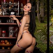 ximena model colorful bikini set 34 0981